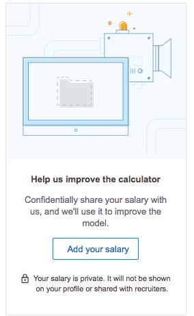 Añadir salario calculadora